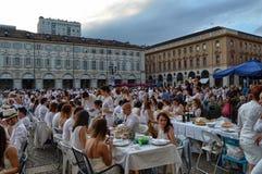 Turyn, Włochy, Podgórski Czerwiec 29 2014 _ zdjęcie royalty free