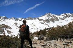 turysta góry Zdjęcia Stock