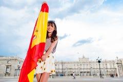 Turysta w Hiszpania Fotografia Royalty Free