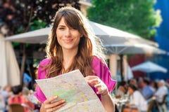 Turysta w Hiszpania Obrazy Stock