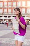 Turysta w Hiszpania Obraz Stock