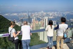 Turysta w Hong Kong obrazy royalty free