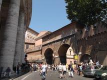 Turysta w Rome obrazy stock