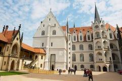 Turysta wizyty Albrechtsburg kasztel w Meissen, Niemcy Fotografia Royalty Free