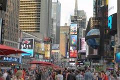 Turysty kwadrat czasami obrazy stock