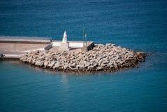 Turysty port Zdjęcia Royalty Free