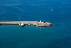 Turysty port Obraz Stock