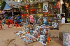 Turysty sklep dla obrazów Obraz Royalty Free
