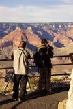 Turysty wp8lywy picutres blisko Powell punktu Obraz Stock