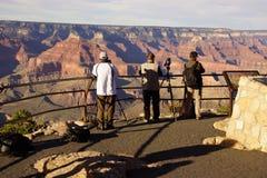 Turysty wp8lywy picutres blisko Powell punktu Obrazy Stock