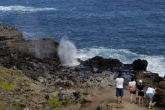 Turysty życie na Maui wyspie Fotografia Stock
