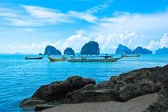 Turystyczna łódź Zdjęcia Stock