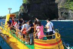 Turystyczna łódź podwodna Zdjęcie Royalty Free