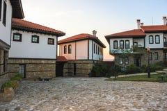 Turystyczna Powikłana górska chata Rubaiyat, Bułgaria Obrazy Royalty Free