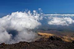 Turystyczna wycieczka wulkan Etna, Catania Sicily Włochy Obraz Royalty Free