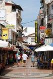 Turystyczna zakupy ulica, Torremolinos Obraz Stock