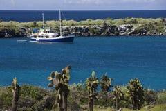 turystyczne Galapagos łódkowate wyspy