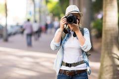 Turystyczne uliczne fotografie Zdjęcie Stock