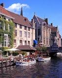 Turystycznej łodzi przejażdżki, Bruges Obraz Stock