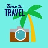Turystycznej podróży ilustracja Fotografia Stock