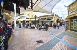 Turystyczni sklepy w Północnym obsiadłym Cypr Zdjęcie Royalty Free