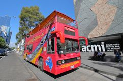 Turystyczny autobus Melbourne Australia obraz royalty free
