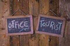 Turystyczny Ewidencyjny biuro Zdjęcia Stock