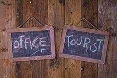 Turystyczny Ewidencyjny biuro Fotografia Stock