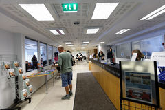Turystyczny ewidencyjny biuro w Helsinki, Finlandia Zdjęcie Royalty Free