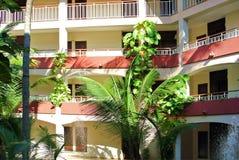Turystyczny hotel Obraz Royalty Free