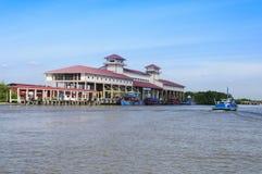 Turystyczny jetty Zdjęcia Royalty Free
