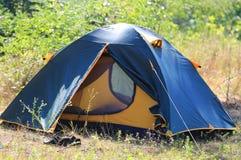 Turystyczny namiot obraz royalty free