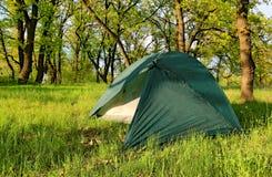 Turystyczny namiot fotografia royalty free