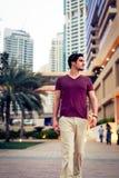 Turystyczny Zwiedzać W Dubaj obrazy royalty free