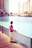 Turystyczny Zwiedzać W Dubaj zdjęcie stock