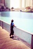 Turystyczny Zwiedzać W Dubaj obraz stock