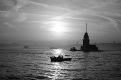 Turystyka i Istanbul Ja Obraz Stock