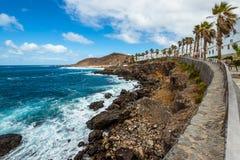 Turystyka i podróż wyspa kanaryjska Tenerife obrazy royalty free