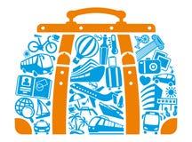 Turystyka symbol Zdjęcia Stock