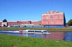 Turystyka w Petersburg, Rosja Zdjęcie Royalty Free