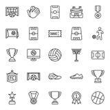 Turystyki Odizolowywać Wektorowe ikony które mogą łatwo redagować lub modyfikować Pakują ilustracji