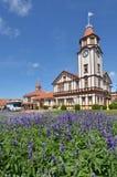 Turystyki Rotorua podróży biuro w Rotorua, Nowa Zelandia - Zdjęcia Stock
