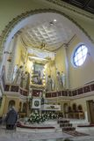 Turza Slaska, Polska, 07 2017 Październik: Plebania z Alta Obrazy Royalty Free