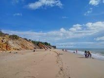 Tusan strand Fotografering för Bildbyråer