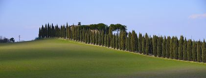 Tuscan αγροικία (Podere) Στοκ Εικόνα