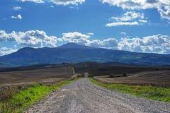 Tuscan αγροτικό τοπίο, Ιταλία στοκ φωτογραφία με δικαίωμα ελεύθερης χρήσης