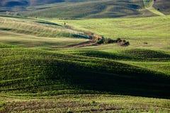 Tuscan επαρχία, ιταλικό τοπίο Στοκ Εικόνες