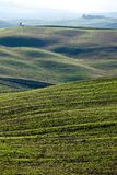 Tuscan επαρχία, ιταλικό τοπίο Στοκ εικόνα με δικαίωμα ελεύθερης χρήσης