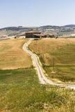 Tuscan επαρχία λόφων Στοκ Εικόνες