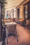 Tuscan εστιατόριο Στοκ φωτογραφία με δικαίωμα ελεύθερης χρήσης